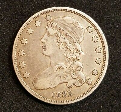 1835 Bust Quarter XF Condition, Discounted for Spots