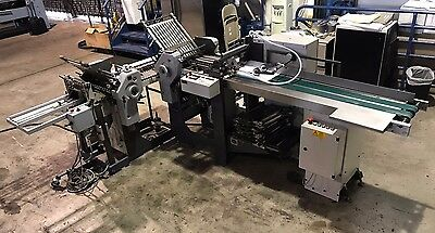 Stahl T36 Pharmaceutical Folder, Stacker,feeder 2004 6/4 dobladora farmacéutica