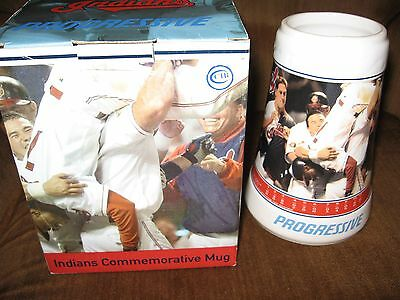 "Cleveland indians Commemorative Mug ""The Impossible Return"" Sunday, Aug 5, 2001!"