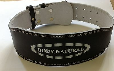 Body Natural's  Leather Weight Lifting Belts
