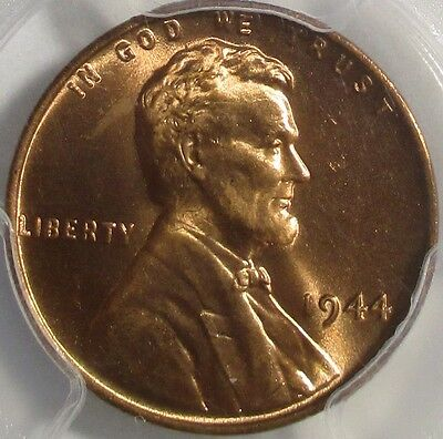 1944 Lincoln Cent, PCGS MS66RD - Very Nice!