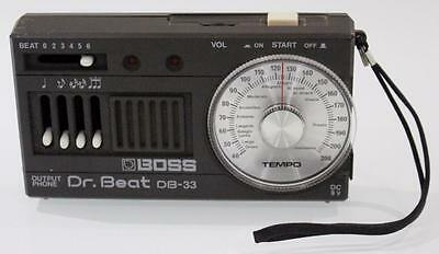 BOSS DB-33 Dr BEAT METRONOME BY ROLAND Music Guitar Drums Made in Japan