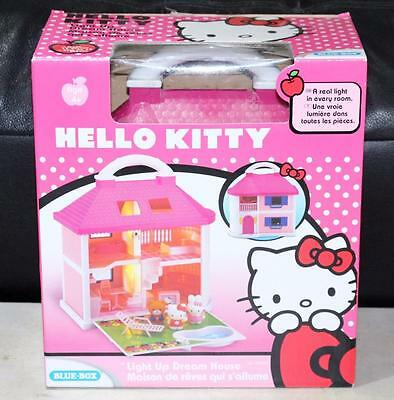 HELLO KITTY Light Up Dream House 2009 ~In Box RARE