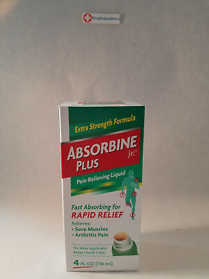 Absorbine Jr Plus Pain Relieving Liquid - 4 oz