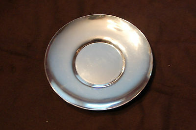** Tiffany & Co. Sterling Silver Round Tray **