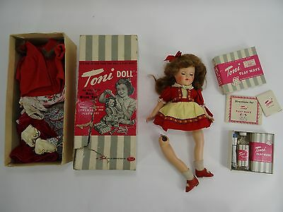 Vintage Toni Doll Play Wave Ideal Lot