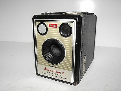 "Kodak Brownie Flash II Film Camera ""In Good Vintage Condition"""