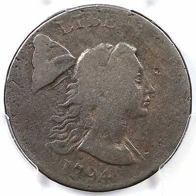 1794 S-19b R-4 PCGS VG 08 Head of '93 Liberty Cap Large Cent Coin 1c