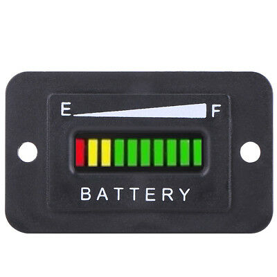 48V Volt Battery Indicator Meter Digital Gauge For Yamaha Golf Cart Car Boat MF