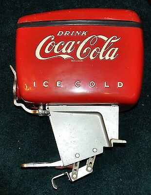 Vintage Coka Cola Boat Motor Soda Fountain Dole Corporation 1940's NO. LV207695