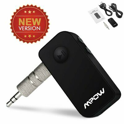 3.5mm Mpow Wireless Bluetooth Car Aux Audio Stereo Music Receiver Adapter Mini