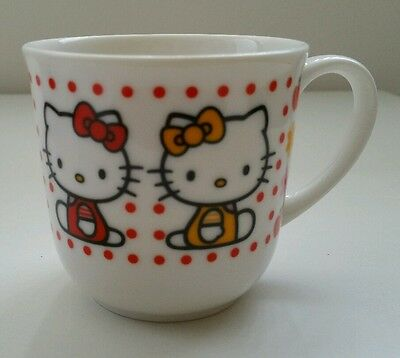 Hello Kitty Ceramic Cup and Plastic Lid