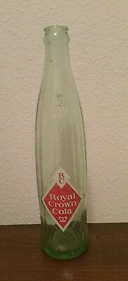 Rare Vintage Royal Crown Cola Green 16 oz bottle