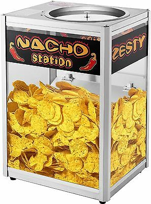 Popcorn Nacho Chip Warming Station Counter Top Commercial Machine Appliance New