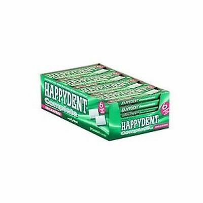 Happydent Chewing Gum - Complete (Sugar Free Spearmint) Pack of 15 pieces