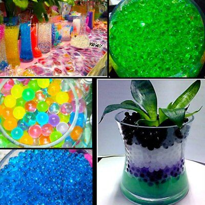 80Pcs/Set Crystal Soils Magic Large Big Ball Water Beads Gel Ball Wedding Decor
