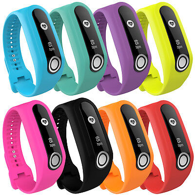 2017 Color Replacement Silicone Wrist Watch Straps Band For TomTom Touch Tracker