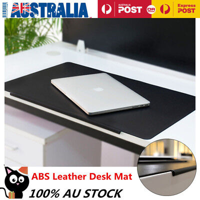 Office ABS Leather Desk Mat Table Pad Protector Mouse Pad Writing Pad
