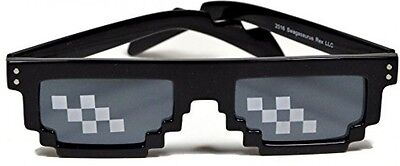 Deal With It Sunglasses - Thug Life MLG 8-Bit Internet Glasses UV Protection IL