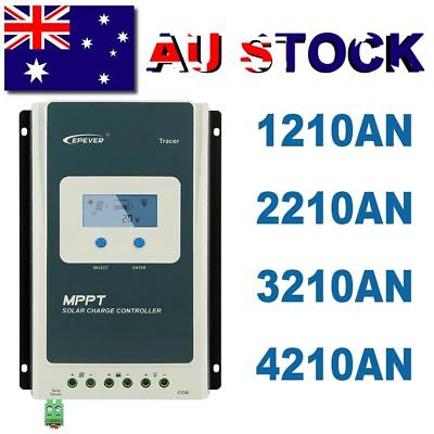 EPEVER 20A 30A 40A MPPT Solar Charge Controller or EBOX-WIFI or MT50
