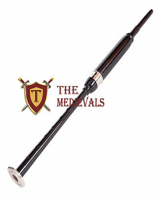 Highland Brown bagpipe Practice chentar Rosewood for musical training