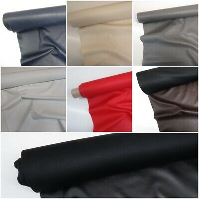 Faux Leather Look Soft PVC Leathercloth Fabric Leatherette Vinyl, Upholstery