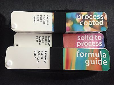 Pantone Solid to Process, Process Coated, Formula Guide SET 1999-2000
