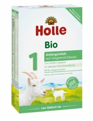 10 x HOLLE STAGE 1 - ORGANIC GOAT MILK - BABY FORMULA FROM GERMANY - 10 x 400 g