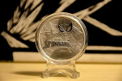 2017 Perth Mint 1oz Silver Spiderman Bullion Coin 10% off with code COZZIE