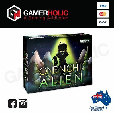 One Night Ultimate Alien Card Game Brand New