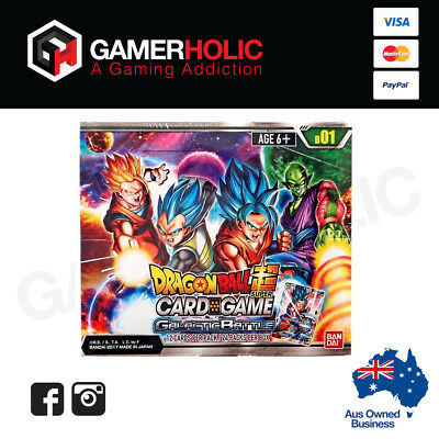 Dragon Ball Galactic Battle Booster Box 24 Boosters Super Card Game Brand New
