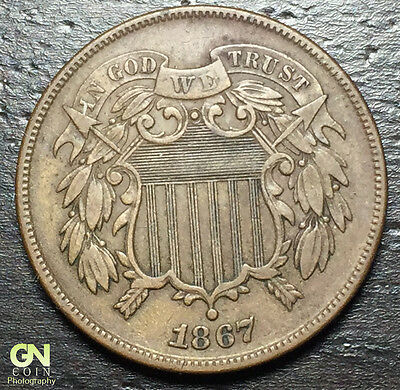 1867 2 Cent Piece  --  MAKE US AN OFFER!  #Y8164