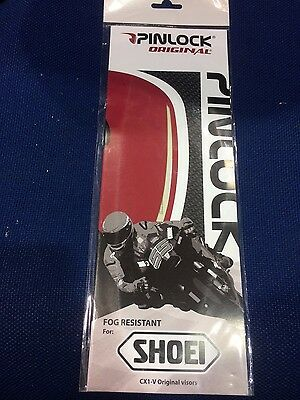 New Genuine Shoei Cx1-V Antifog Clear Pinlock Insert Xr1000 Raid Ii Multitec