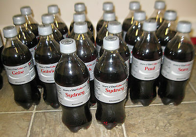 SHARE A DIET COKE NAME 20 OZ BOTTLES  2014 First Year of U.S. Series Unopened