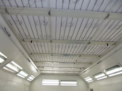 """Speritex 665/HT Spray Paint Booth Ceiling Filter for AFC Booth 37"""" x 54"""" Set 12"""