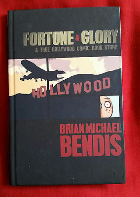 FORTUNE & GLORY - brian michael bendis, ICON hardcover GN - avengers, spider-man