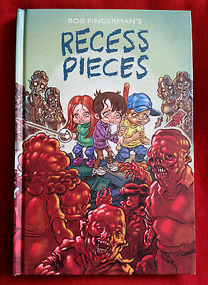 RECESS PIECES - bob fingerman - dark horse hardcover GN - zombies