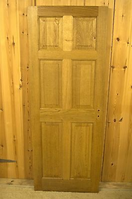 Beautiful hand-made antique solid oak door for sale