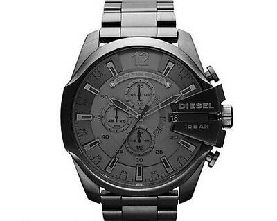 Diesel Herrenuhr xxl | Mega Chief Chronograph | anthrazit