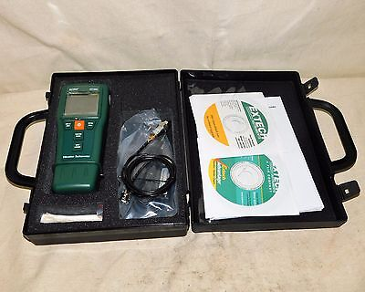 Extech Instruments 461880 Vibration Meter and Laser Combination Tachometer
