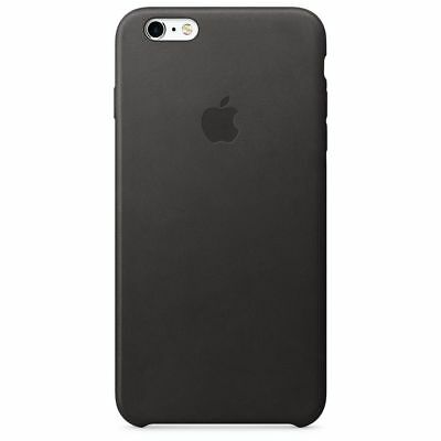 Genuine Apple iPhone 6/6s Leather Case - Black
