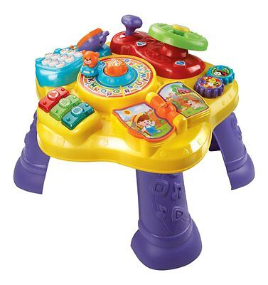 Kids Toddler Learning Table Educational Developmental Activity Fun Play Baby Toy
