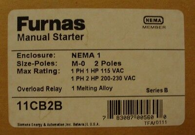 Furnas 11CB2B - Manual Starter
