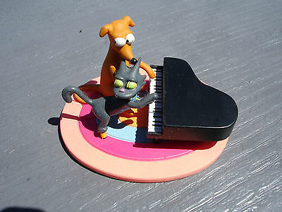 "The Simpsons Bust-Ups "" Simpsons Pets"" Figure, Playing Piano"