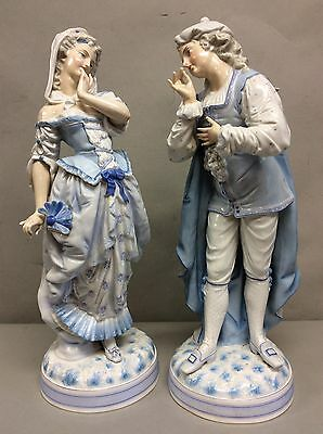 """Pair of Figurines Man&Woman 18"""" Tall"""