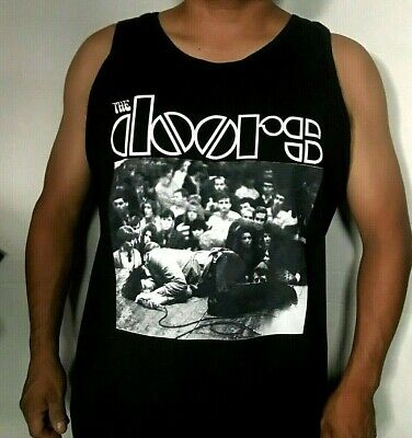 New!! The Doors Jim Passed Out On Stage Onstage Men's Tank Top Sizes