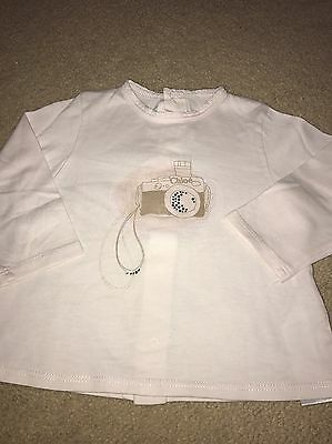 Gorgeous baby Girls Chloe Top - excellent Condition