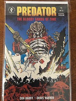 Predator the Bloody Sands of Time 1 -2 complete vf