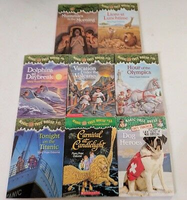 Lot Of 12 Magic Tree House Children's Books Mary Pope Osborne - Free Shipping!