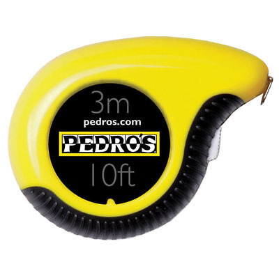 Pedro's 3-meter (10 feet) Tape Measure Pedros 3 Meter Metric English Tape